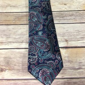 Etienne aigner paisley men's tie